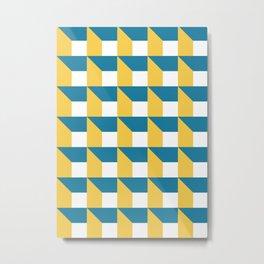 Modern Geometric 51 Metal Print