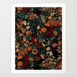 EXOTIC GARDEN - NIGHT XXI Art Print