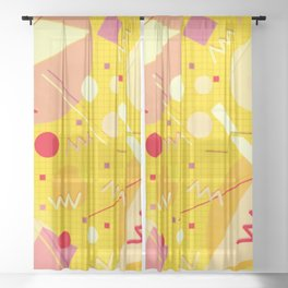 Memphis #81 Sheer Curtain