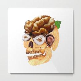 Going Nuts Metal Print