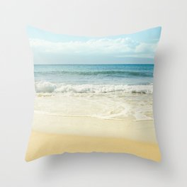 The Voices of the Sea Throw Pillow