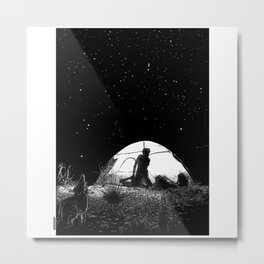 asc 455 - L'obscure clarté (The She-Wolf) Metal Print