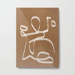 Abstract Art 01 Metal Print