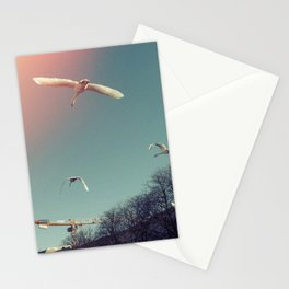 Swans over Berlin Stationery Cards