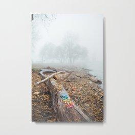 Lake Erie Fog Metal Print