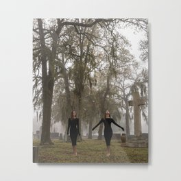 Split Infinity Metal Print