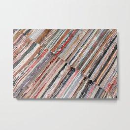 Typical azorean blanket Metal Print