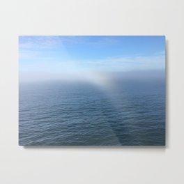 Oceanic Rainbow Metal Print