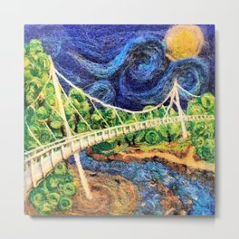 Liberty Bridge 2016 Metal Print