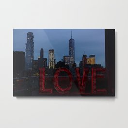 All you need is love, NYC Metal Print