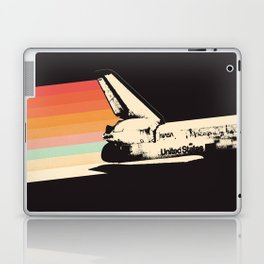 Spaceship - Rainbow Laptop & iPad Skin