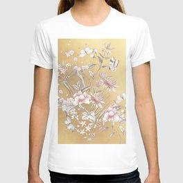 Chinoiserie Gold T-Shirt