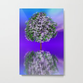 just a fancy tree -9- Metal Print