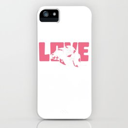 I just freaking love sloths ok? iPhone Case