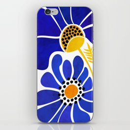 The Happiest Flowers iPhone Skin