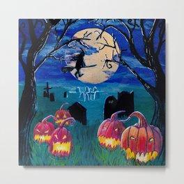 Spooky night Metal Print