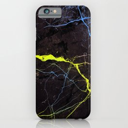 Beyond Gold and Blue Marble iPhone Case