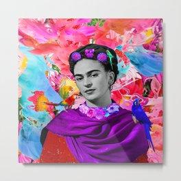 Freeda   Frida Kalho Metal Print