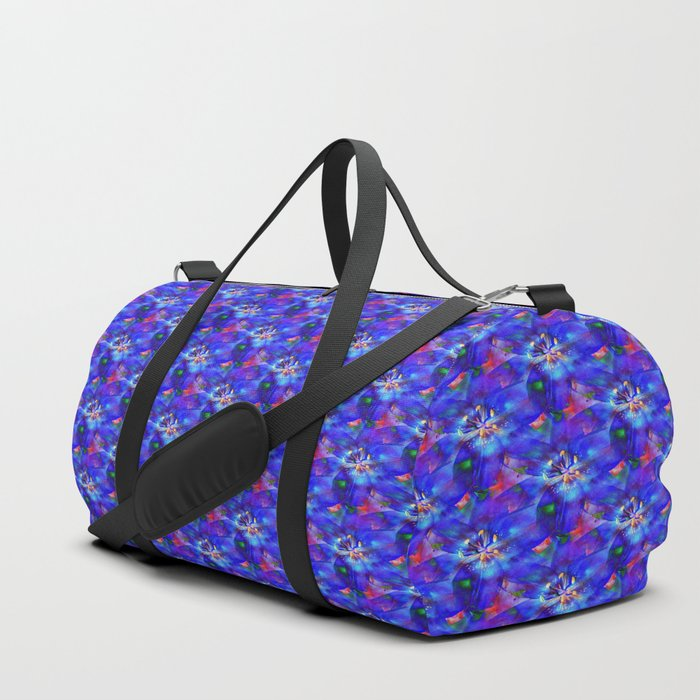 Flashy Flower Duffle Bag