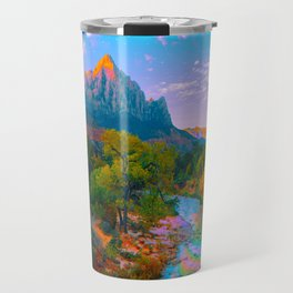 Flowing With The River Travel Mug