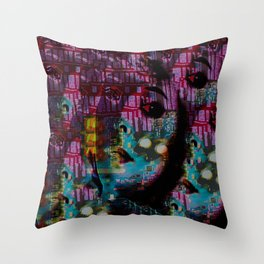 Within This Beautiful Machine: Betrayal Throw Pillow