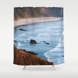 Coasting along Oregon Shower Curtain