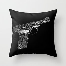 Gun Throw Pillow