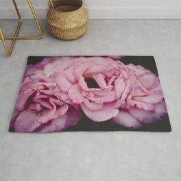 Pink roses Rug