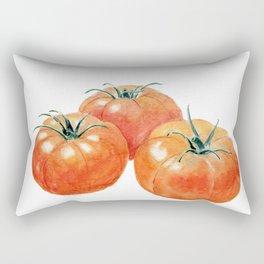 Three Tomatoes Rectangular Pillow