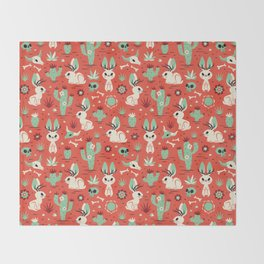 Cryptid Cuties: The Jackalope Throw Blanket