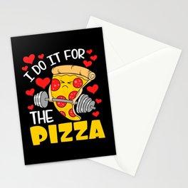 Pizza Dough Pepperoni Olive Tomato Paste Stationery Cards