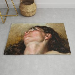 "Gustave Courbet ""L'Extase (The Ecstasy)"" Rug"