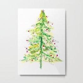 Fa La La La Tree Metal Print