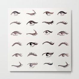 Mascara Envy – Black Palette Metal Print