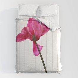 pink cyclamen Comforters
