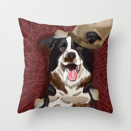 Dog Gone Dirty Throw Pillow