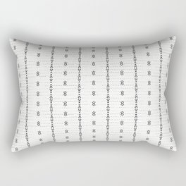 FRENCH LINEN STRIPE Rectangular Pillow