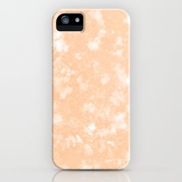 Clementine clouds iPhone Case
