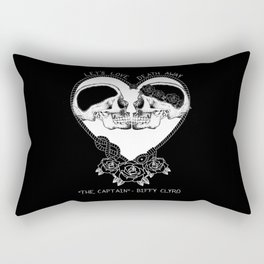 """The Captain"" - Biffy Clyro Rectangular Pillow"