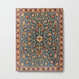 William Morris Floral Carpet Print Metal Print