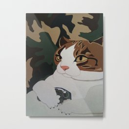 Hell Cat Metal Print