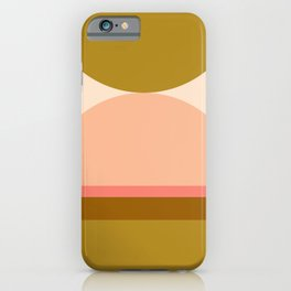 Abstraction_Mountains_Balance_ART_Landscape_Minimalism_001B iPhone Case