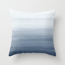Ocean Watercolor Painting No.2 Throw Pillow
