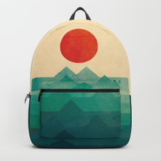 The ocean, the sea, the wave Backpack