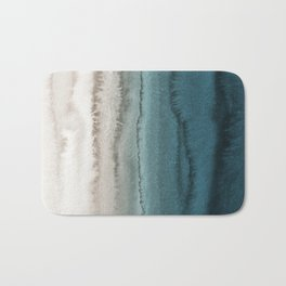 WITHIN THE TIDES - CRASHING WAVES TEAL Badematte