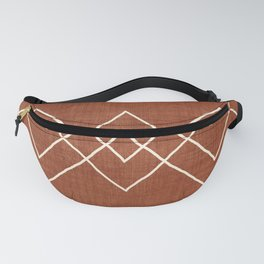 Nudo in Rust Fanny Pack