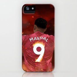 Anthony Martial iPhone Case