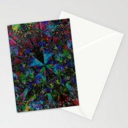 Leopard Gecko Fractal Stationery Cards