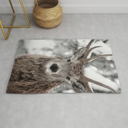 WINTER STAG Rug