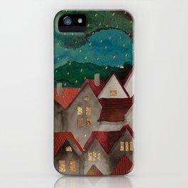 Cozy roof iPhone Case